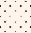 seamless pattern simple geometric texture vector image vector image