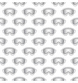 Snowboard mask seamless background old pattern vector image