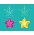 Star pictogram vector image vector image