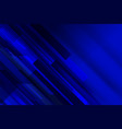 stripe tech blue background template vector image vector image