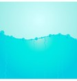blue water levels vector image