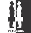 Team Work vector image