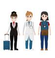 american workers cartoons vector image vector image