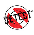 detect rubber stamp vector image vector image