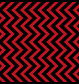 geometric seamless pattern black and red triangle vector image