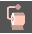 Isolated Toilet Paper vector image vector image