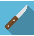 Knife flat icon vector image vector image