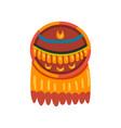 maya civilization symbol totem sign american vector image vector image