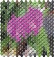 MosiacAbstract20380x400 vector image vector image