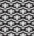 pattern floral seamless damask flower royal vector image