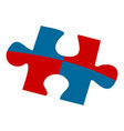 puzzle piece icon puzzle vector image