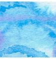 Watercolor aqua background-abstract hand drawn vector image vector image