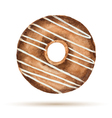 Watercolor donuts vector image