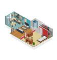 house interior concept vector image