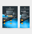 abstract business brochures cover or banner vector image vector image