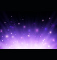 abstract purple glowing burning fire light rays vector image