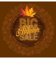 Autumn sale 09 01 vector image vector image