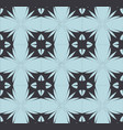blue black mosaic pattern modern contrast vector image vector image