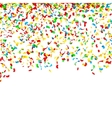Confetti Falling Bright Explosion Isolated vector image vector image