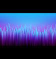 digital synthwave background vector image vector image