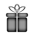 gift icon sign vector image