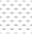 pink blue magic glasses pattern seamless vector image vector image