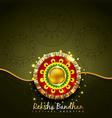 raksha bandhan festival design vector image vector image