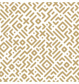 seamless geometric pattern - striped design vector image vector image