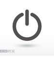 Shutdown - flat icon vector image vector image