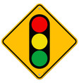 Traffic Light Symbol vector image vector image