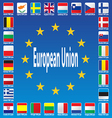 Europe Patriotic Blue Luxembourg Patriot Republic vector image