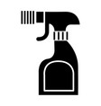 Foggy spray bottle icon vector image