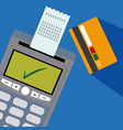 nfc technolgoy payment vector image vector image