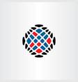 programming logo internet data icon vector image