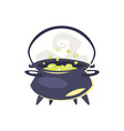 witchs kettle vector image vector image