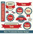 Retro Vote Stickers
