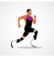athlete runner Icon vector image vector image