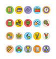 Education Colored Icons 2 vector image vector image