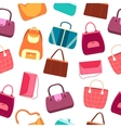 elegance fashion handbags and bags in flat vector image vector image