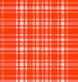 red plaid pattern background vector image vector image