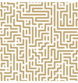 seamless geometric pattern - striped design vector image