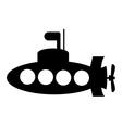 Submarine icon vector image vector image