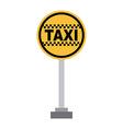 taxi design vector image vector image