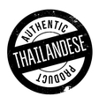 Authentic thailandese product stamp vector image vector image