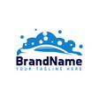 car wash logo template designs vector image vector image
