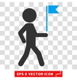Child Flag Guide Eps Icon