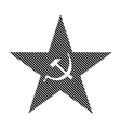 Communism star sign vector image vector image
