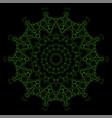 decorative oriental geometric ornament vector image vector image