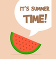 holiday summer and summer camp vector image vector image