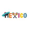 mexico cinco de mayo - may 5 federal holiday in vector image vector image